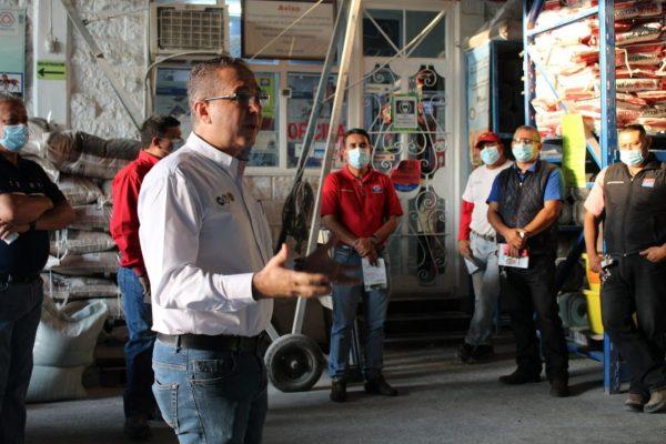 Destaca distrito 5 por sectores productivos de alto rendimiento y productos de primera calidad
