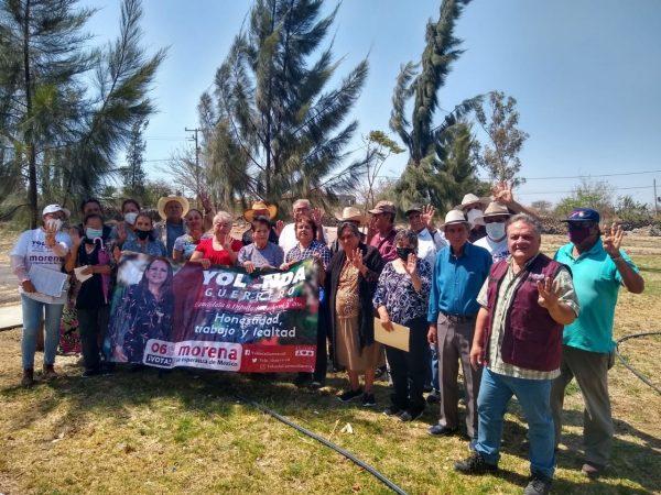 Agricultores y empresarios piden a Yolanda Guerrero sanear Río Duero