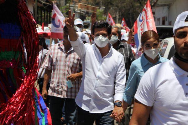 Arrancó Oscar Escobar campaña para diputado por distrito 19 de Tacámbaro