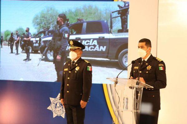 Mantiene SSP operaciones en Aguililla para garantizar el libre tránsito