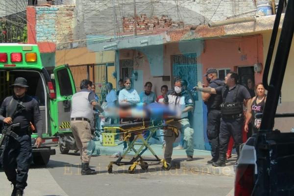 Velador es baleado en la colonia El Porvenir
