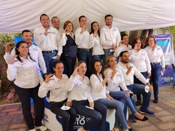 Planilla de gente honesta y de trabajo clave para regreso de buen gobierno: Carlos Soto