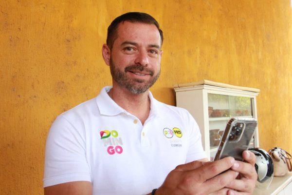 Domingo Méndez pone a disposición línea de whatsapp para la población