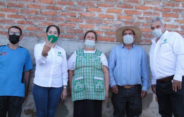 Marcedalia Reyes muy cercana a los jaconenses.
