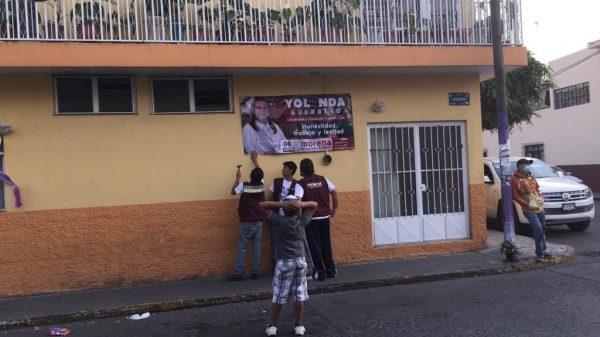 Mujeres se solidarizan con Yolanda Guerrero, la ven como su representante