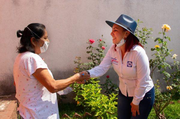 """""""Mantendré el dialogo con la población en todo momento"""": Raque Vargas"""
