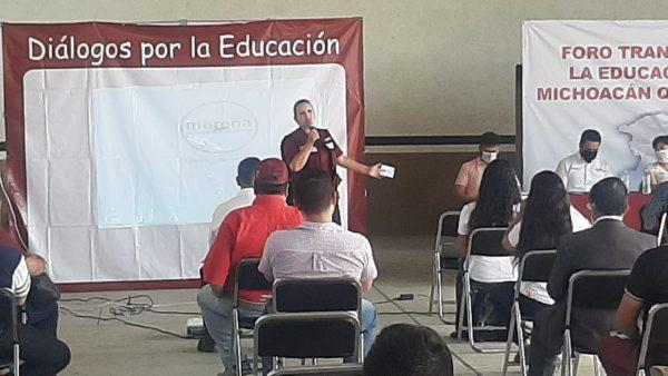 Maestros de La Piedad apuestan al proyecto de Yolanda Guerrero