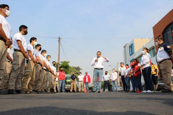 Total apoyo al cuerpo de Rescate y Salvamento: Rubén Nuño