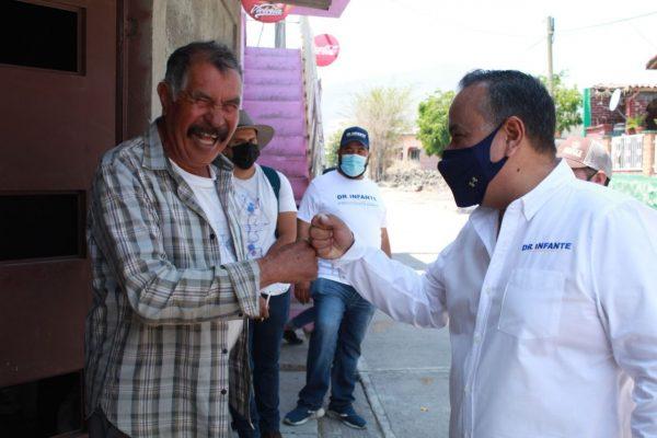 Respalda la gente al Dr. Jesús Infante para continuar como alcalde de Ecuandureo