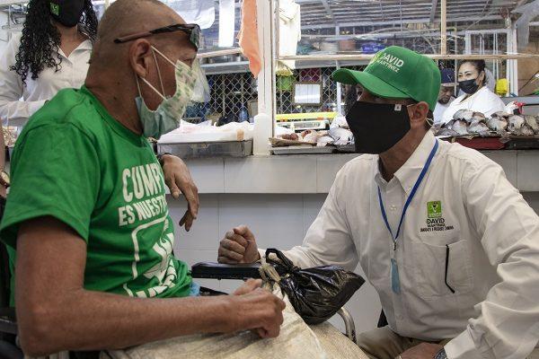 En Mercado Hidalgo la gente mostró confianza al proyecto de David Martínez Gowman