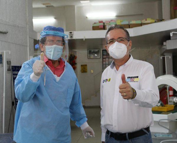 Urge generar condiciones optimas de apoyo al sector médico: Enrique Godínez