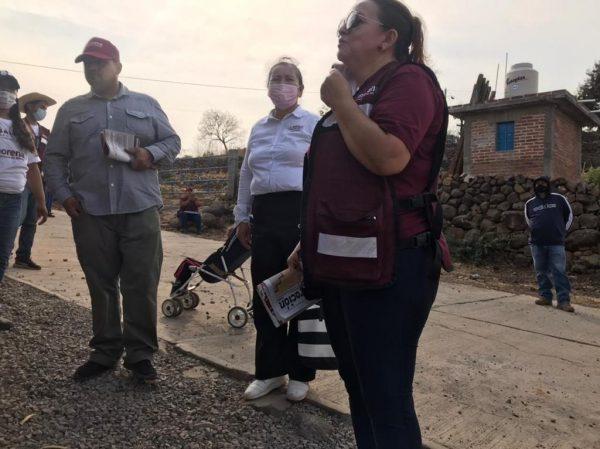 En Zinaparo la gente confía en MORENA porque no les hemos fallado: Yolanda Guerrero