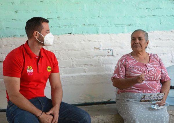 Domingo visitó a la familia Gallardo en La Joyita, Jacona