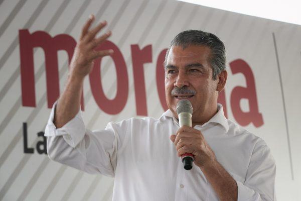 Hoy nos regresan la candidatura: Raúl Morón