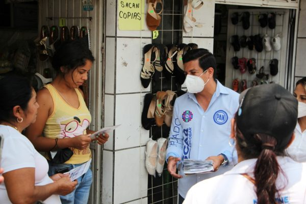 Necesario reactivar la economía para abatir inseguridad: Oscar Escobar