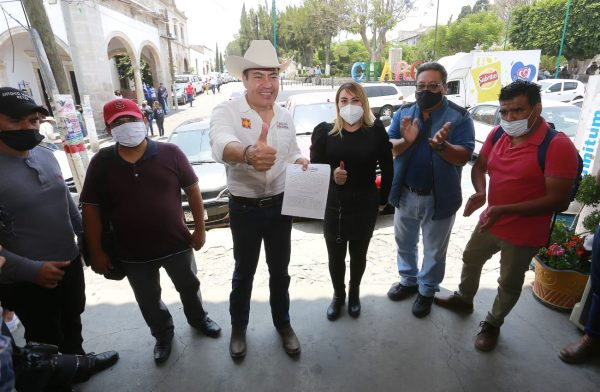 Otros 250 comités de Morena se suman con Carlos Herrera