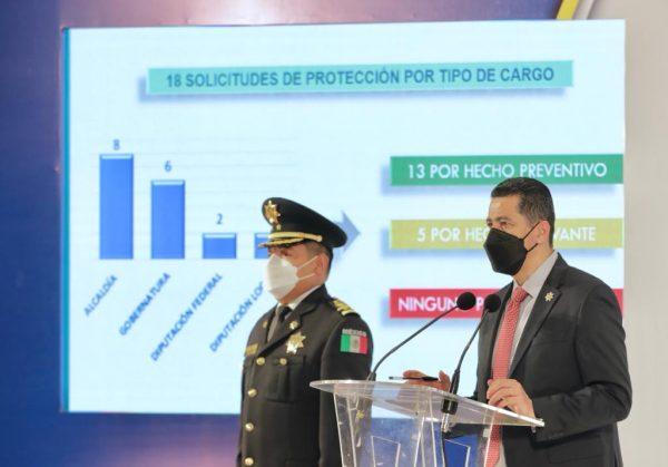 Atiende SSP solicitudes de protección a candidatos