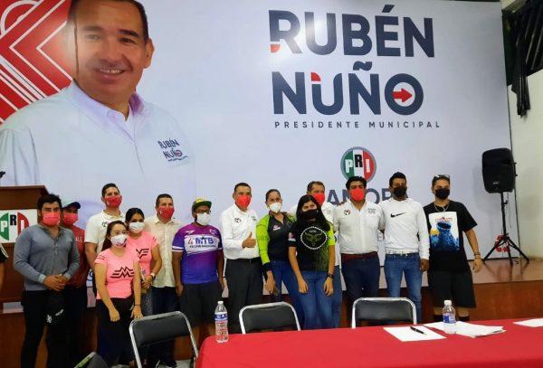Vamos a impulsar el ciclismo: Rubén Nuño