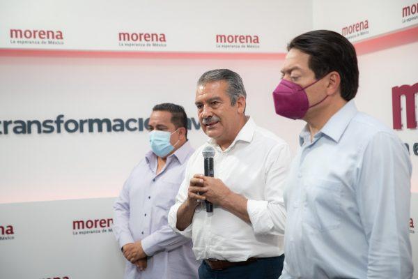 Raúl Morón dirigirá consolidación de la 4T en Michoacán