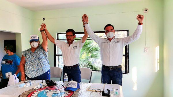 CTM se une a proyecto de Carlos Soto rumbo a la presidencia municipal