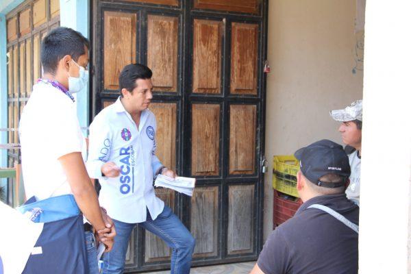 Oscar Escobar llama hacer equipo con los ciudadanos, por un mejor Michoacán