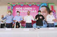 Ahora en Tuxpan, Morena y PT se suman con Carlos Herrera