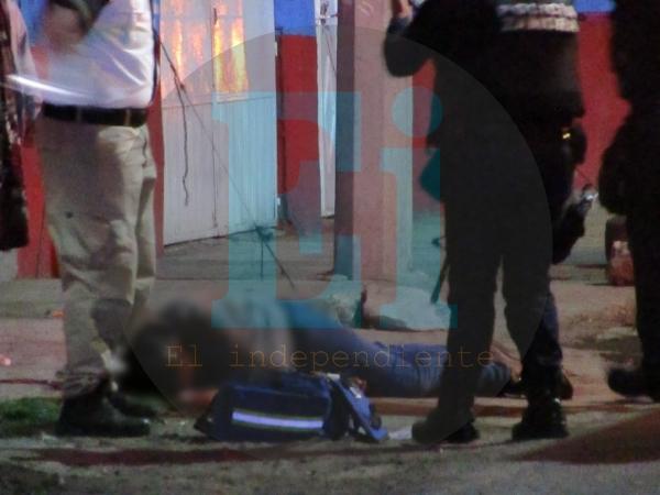 Balean a un adolescente en la colonia López Mateos y muere en un Hospital