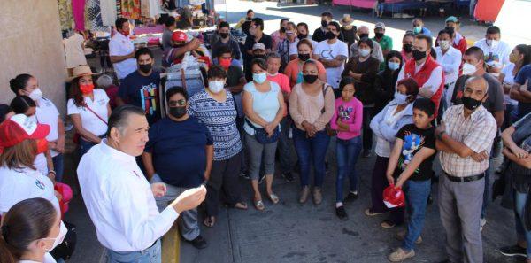 Estoy con los tianguistas: Rubén Nuño