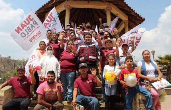 Recibe Nahuatzen con los brazos abiertos a Juan Pablo Puebla