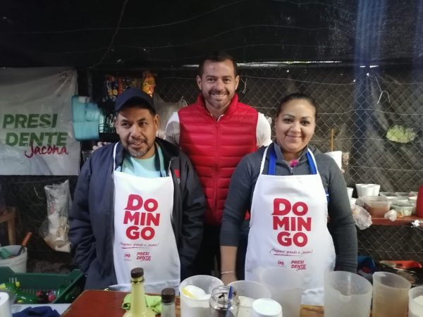 Con la ayuda de los comerciantes, haremos grande a Jacona: Domingo