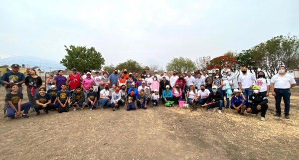 Apuesta de Domingo Méndez es mejorar medio ambiente de Jacona