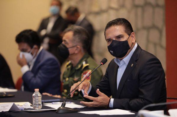 Fortalecen coordinación para garantizar proceso electoral ordenado y pacífico en Michoacán