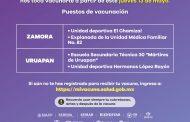 Inicia mañana en Zamora y Uruapan vacunación a personas de 50 a 59 años