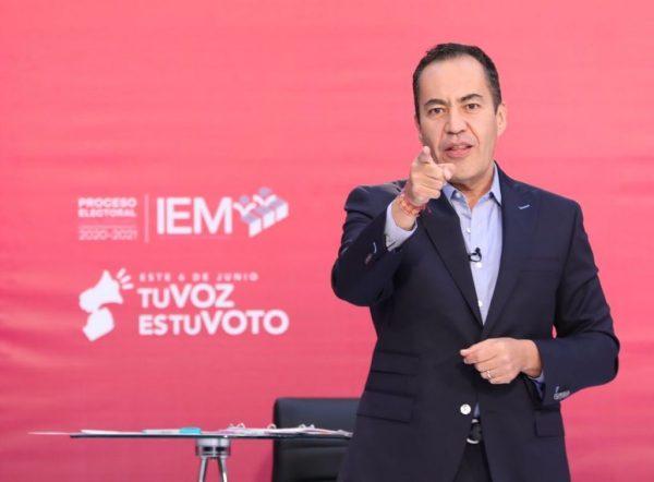 Gana Carlos Herrera el debate. Advierte: no regresarán los políticos rancios que agredieron a Michoacán