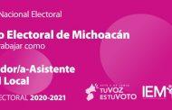 IEM contratará a más capacitadores asistentes electorales