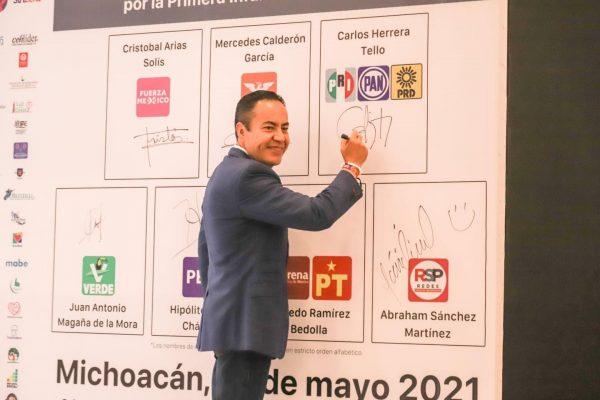 Cuidar a la niñez es cuidar el futuro de Michoacán: Carlos Herrera