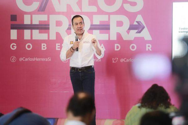 En mi gobierno los maestros cobraran a tiempo y de forma completa: Carlos Herrera