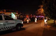 Localizan un cuerpo encobijado y con mensaje en el Fraccionamiento Altamira.
