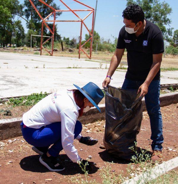 Raque Vargas hará de Jacona un municipio limpio