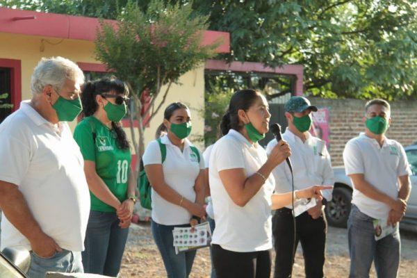 Con la suma de esfuerzos es como vamos a ganar: Marce Reyes