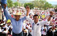 Cierran filas con Oscar Escobar más de 18 mil michoacanos