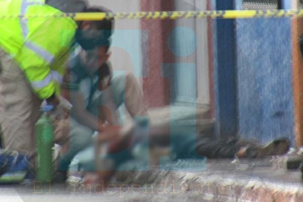 Joven queda gravemente herido al ser baleado en la colonia El Porvenir