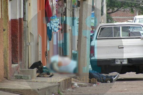 Hombre es ultimado a tiros en las calles de la colonia Buenos Aires