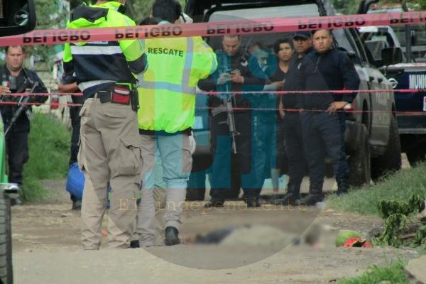Velador es asesinado a balazos en la colonia Ferrocarril