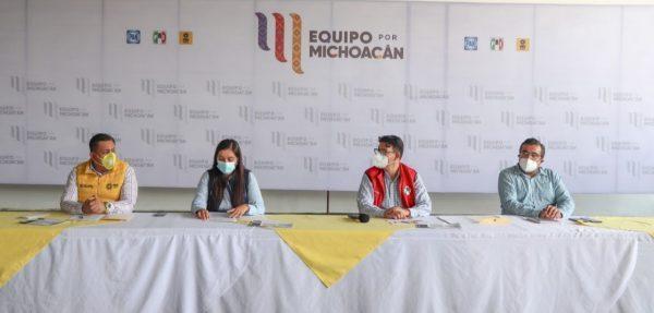 Hay elementos que hicieron atípica la elección de Gobernador: Equipo por Michoacán