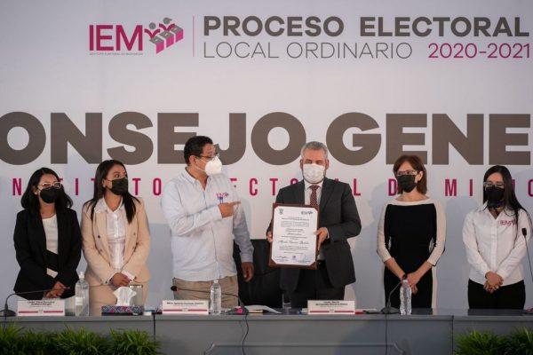 Alfredo Ramírez Bedolla es virtual gobernador electo