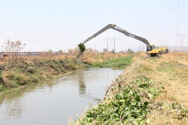 Limpieza de afluentes se complica por adeudos e invasión de terrenos