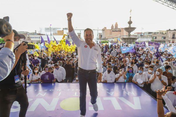Yo quiero un Michoacán en paz: Carlos Herrera