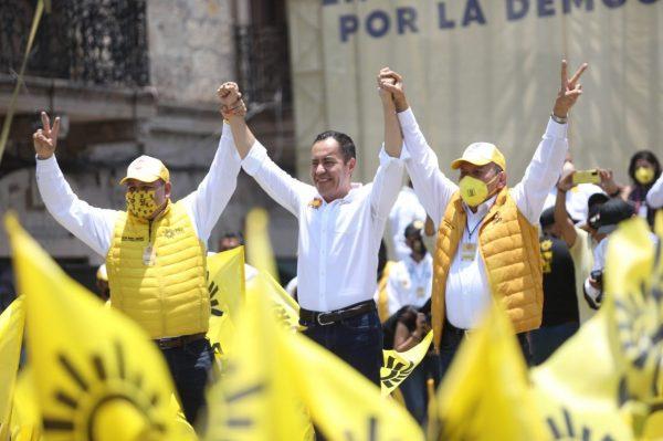 Carlos Herrera, el candidato de la reconciliación y la paz