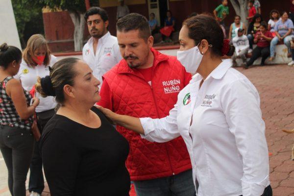 Ya no más abandono y desolación para la gente de La Sauceda: Rubén Nuño
